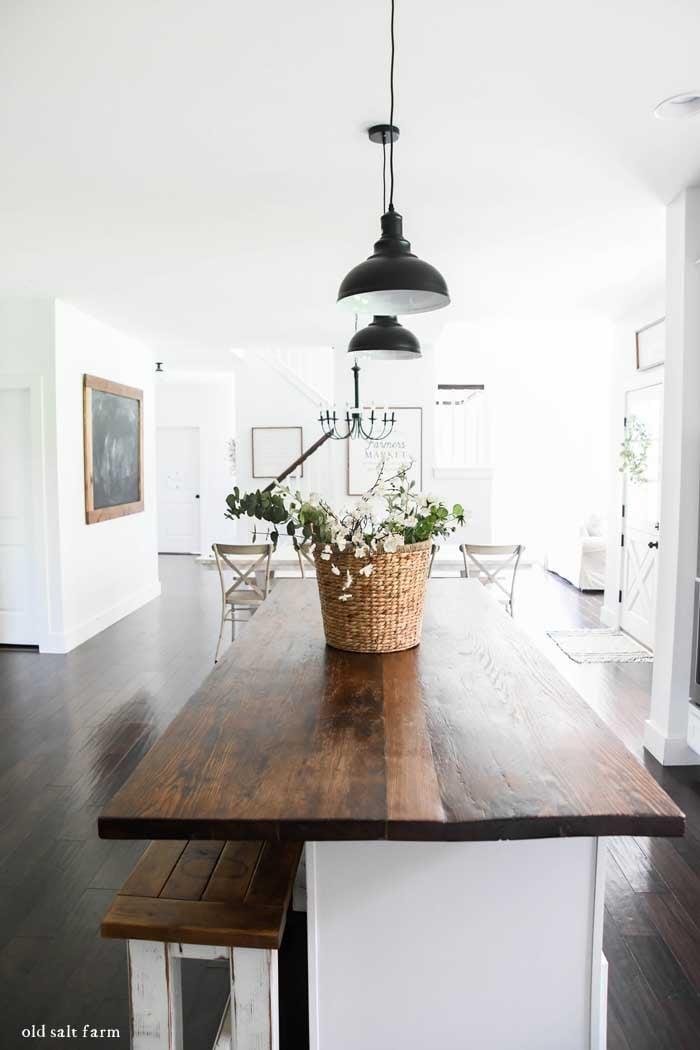 Farmhouse Kitchen Pendant Lighting: Glass vs. METAL